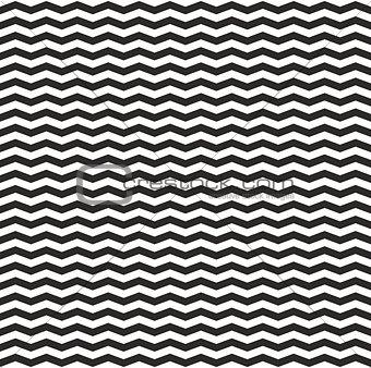 Tile vector black and white zig zag pattern