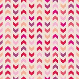 Chevron seamless vector colorful pattern, texture or background with zigzag stripes