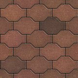 Decorative Brown Brick Pavers.