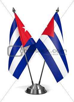 Cuba - Miniature Flags.