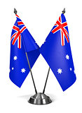 Australia - Miniature Flags.