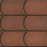 Brown Brick Pavers. Seamless Texture.