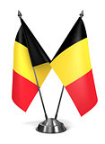 Belgium - Miniature Flags.