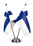 Finland - Miniature Flags.