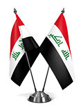 Iraq - Miniature Flags.