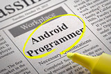Android Programmer Jobs in Newspaper.