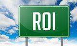 ROI on Highway Signpost.