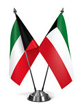 Kuwait - Miniature Flags.