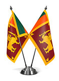 Sri Lanka - Miniature Flags.