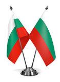 Bulgaria - Miniature Flags.
