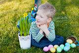kid at spring