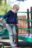 kid at the playground