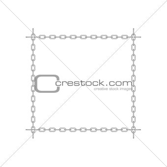 Chain in shape of square