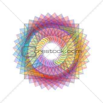 Fractal geometrical design element