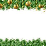 Golden Fir Tree Frame