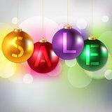Sale Bokeh Background