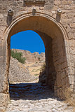 Entrance to the ancient fortress.