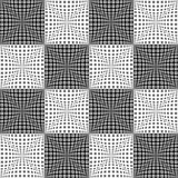 Design seamless monochrome checked pattern
