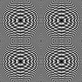Design seamless monochrome checkered pattern