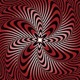 Design whirlpool movement warped background
