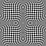Design monochrome checkered background