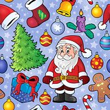 Christmas seamless background 9