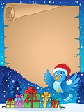 Christmas topic parchment 7