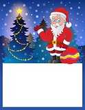 Small frame with Santa Claus 7