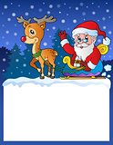 Small frame with Santa Claus 8
