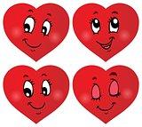 Valentine hearts thematic set 3