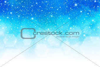 Abstract pattern winter season background