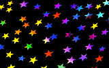 Festive stars party background