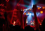 Disco party concert
