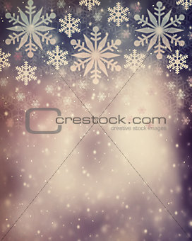 Beautiful vintage Christmas background