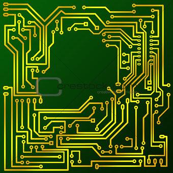 green cuprextit board
