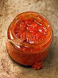 rustic red tomato salsa