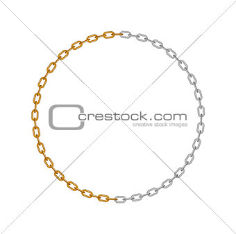 Chain in shape of circle
