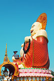 Big Buddha In Wat Plai Laem