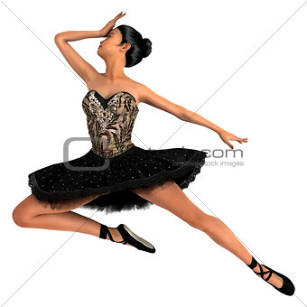 Asian Female Ballet Dancer