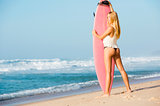 Blode surfer Girl
