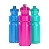 Sport plastic bottles