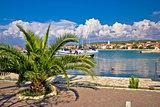 Bibinje village in Dalmatia waterfront view