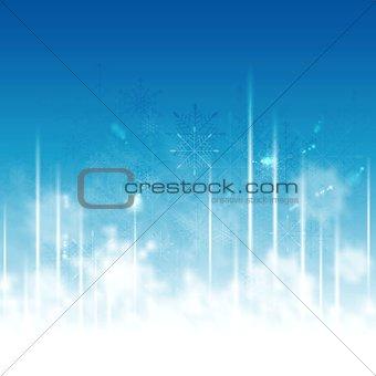 Greeting card for Christmas holiday