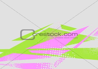Abstract flat minimal bright tech background