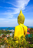 Big buddha in Sichang Island ,Chonburi,Thailand