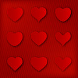 Various heart shape icons