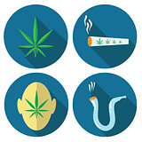 cannabis icons