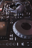 Sound mixer of DJ turntable
