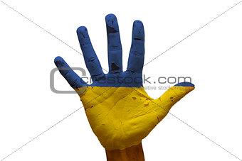 palm flag ukraine