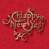 Decorative New Year background